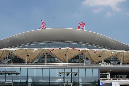 长沙黄花机场监控机房